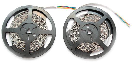 Пример расчета мощности блока питания для двух светодиодных лент