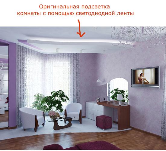 схема электрическая помещения